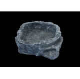 Terraced Dish Grey Medium - Komodo