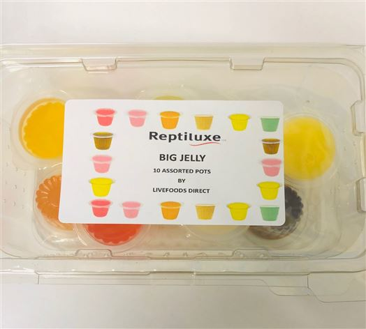 Jelly Pots pack of 10 mixed flavour