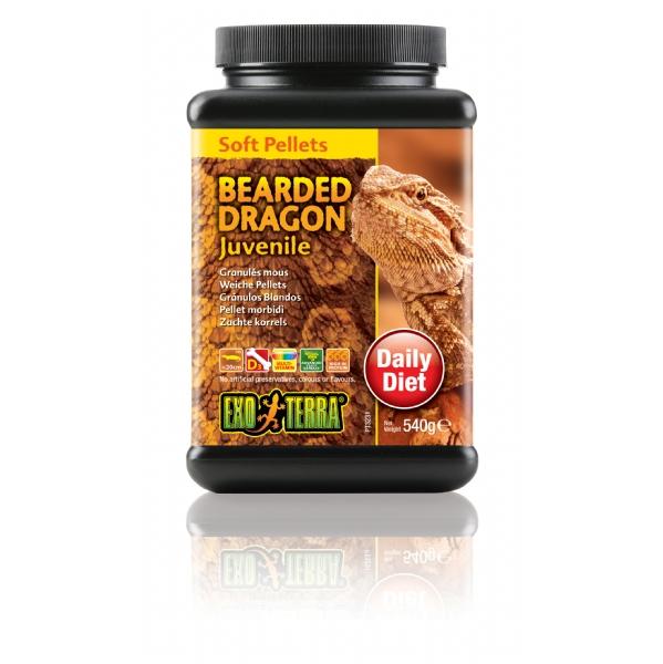 bearded dragon food juvenile 540g exo terra livefoods. Black Bedroom Furniture Sets. Home Design Ideas